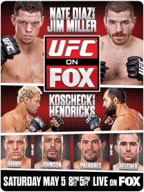 Pôster do UFC On FOX 3