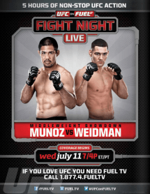 Pôster do UFC On FUEL TV 4