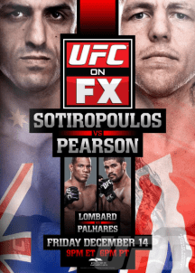Pôster do UFC On FX 6