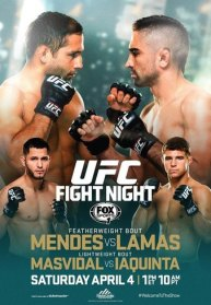 Pôster do UFC Fight Night 63