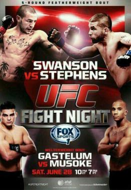UFC-Fight-Night-44-Swanson-Stephens-poster