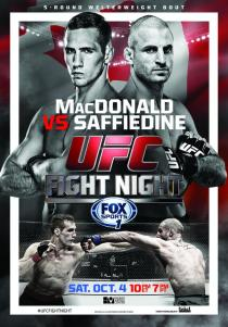 UFC-Fight-Night-54-MacDonald-Saffiedine-Halifax-poster