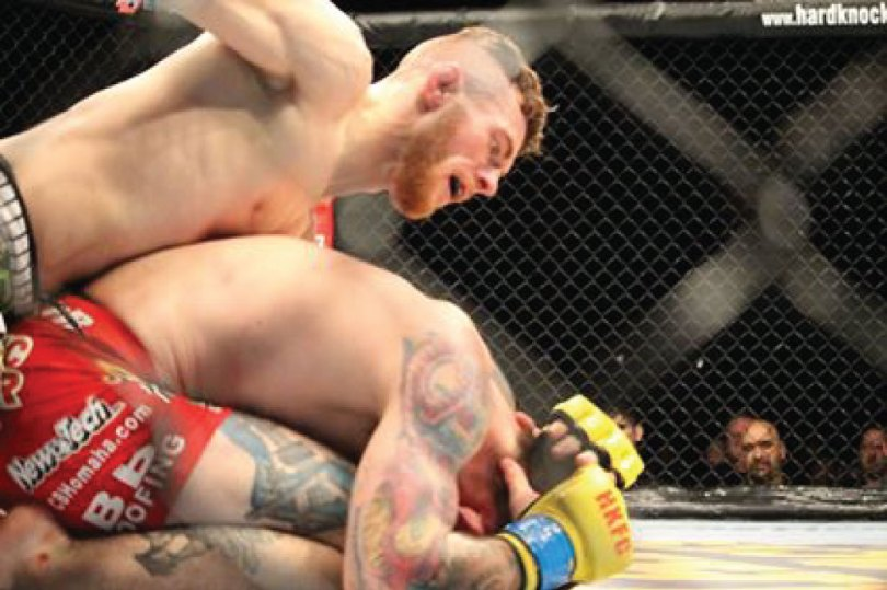 Jesse Arnett Hard Knocks Fighting MMA