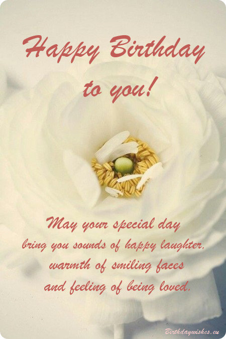Happy Birthday Wishes Card For Facebook