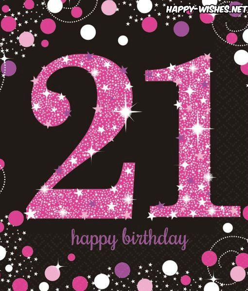Birthday Wishes For A Niece Turning 21
