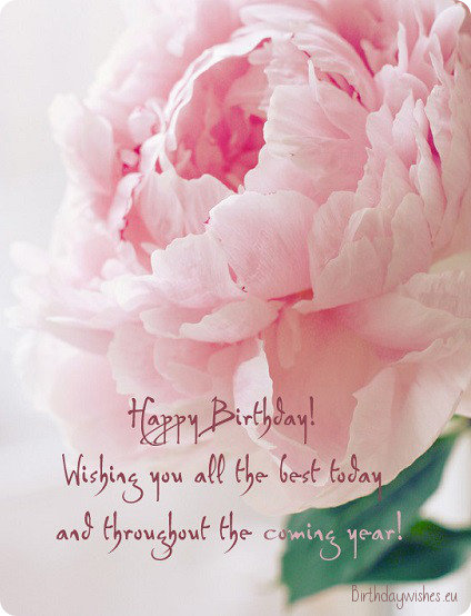 Birthday Wishes For A Special Lady