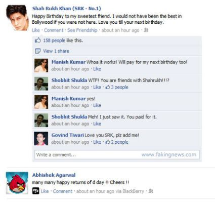 Happy Birthday Wishes Facebook Comments