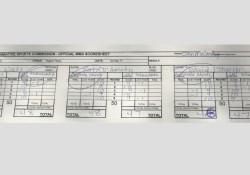 UFC 215 skor