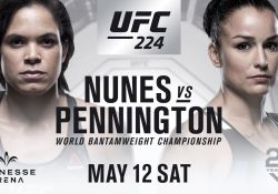UFC 224 Nunes Pennington