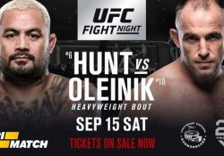 Mark Hunt Oleksiy Oliynyk