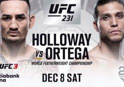 UFC 231 Holloway Ortega