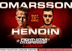 Fightstar 16 Bjarki Ómarsson