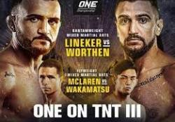 ONE on TNT 3 poster