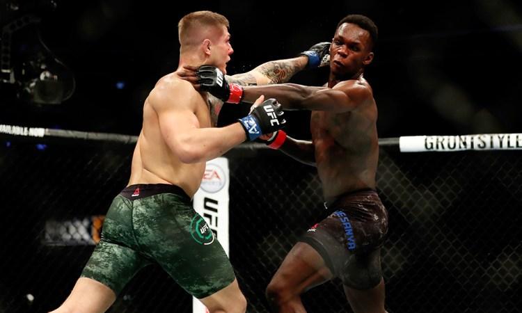 Battling to a razor thin split decision, Israel Adesanya secured bragging rights over Marvin Vettori back in 2018 | UFC 263 | Pintsized Interests
