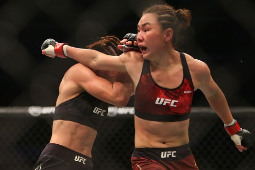 yan-xiaonan-syuri-kondo-ufc-fight-night-141 | MMA Junkie