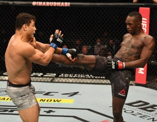 Israel Adesanya advises Paulo Costa to 'let it go' if he ever wants a rematch