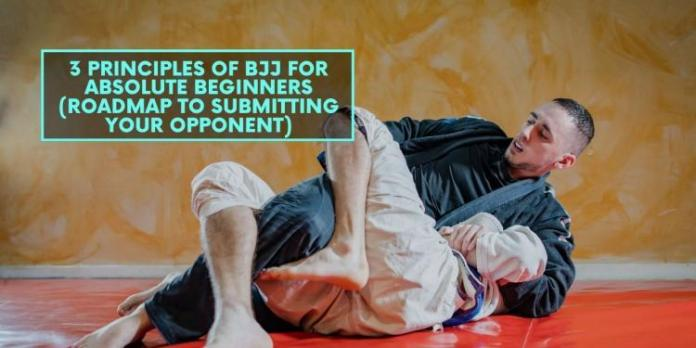 3 Principles of BJJ for Absolute Beginners (Roadmap to Submitting Your Opponent)