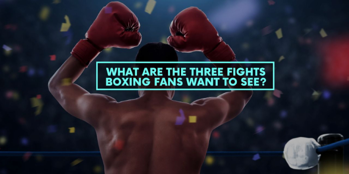 What are the Three Fights Boxing Fans Want to See in 2019?