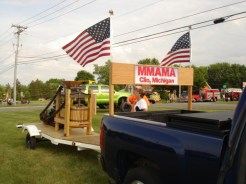 2017 Clio Fireman's Parade Float