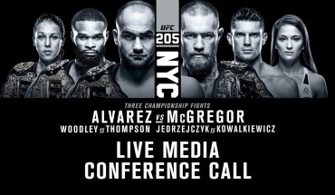 UFC 205 conference call p 1.