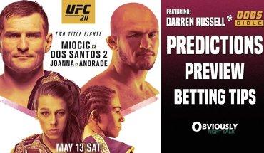 UFC 211 predictions show.
