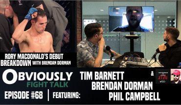 Rory MacDonald breakdown, BAMMA and more.