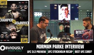 Norman Parke interview.