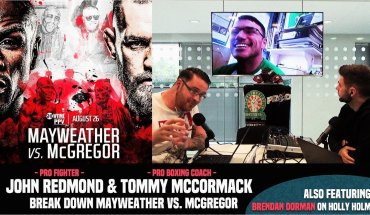 Mayweather vs. McGregor and Tommy mcCormick.