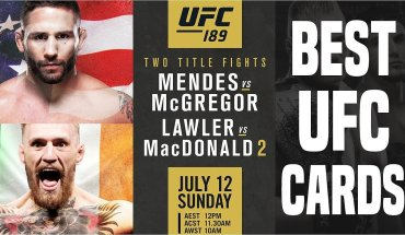 What are the best UFC events?