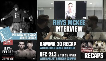 UFC 213, TUF Finale and BAMMA: