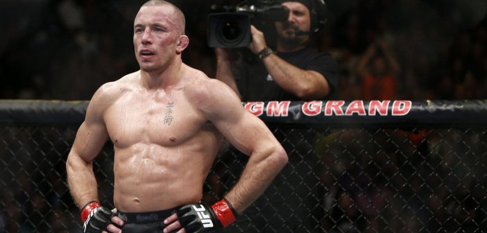 GSP Georges St-Pierre Esther Lin