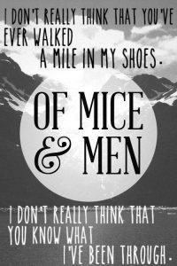 of mice and men george monologue
