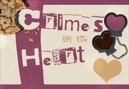 Image with text: Crimes of the Heart