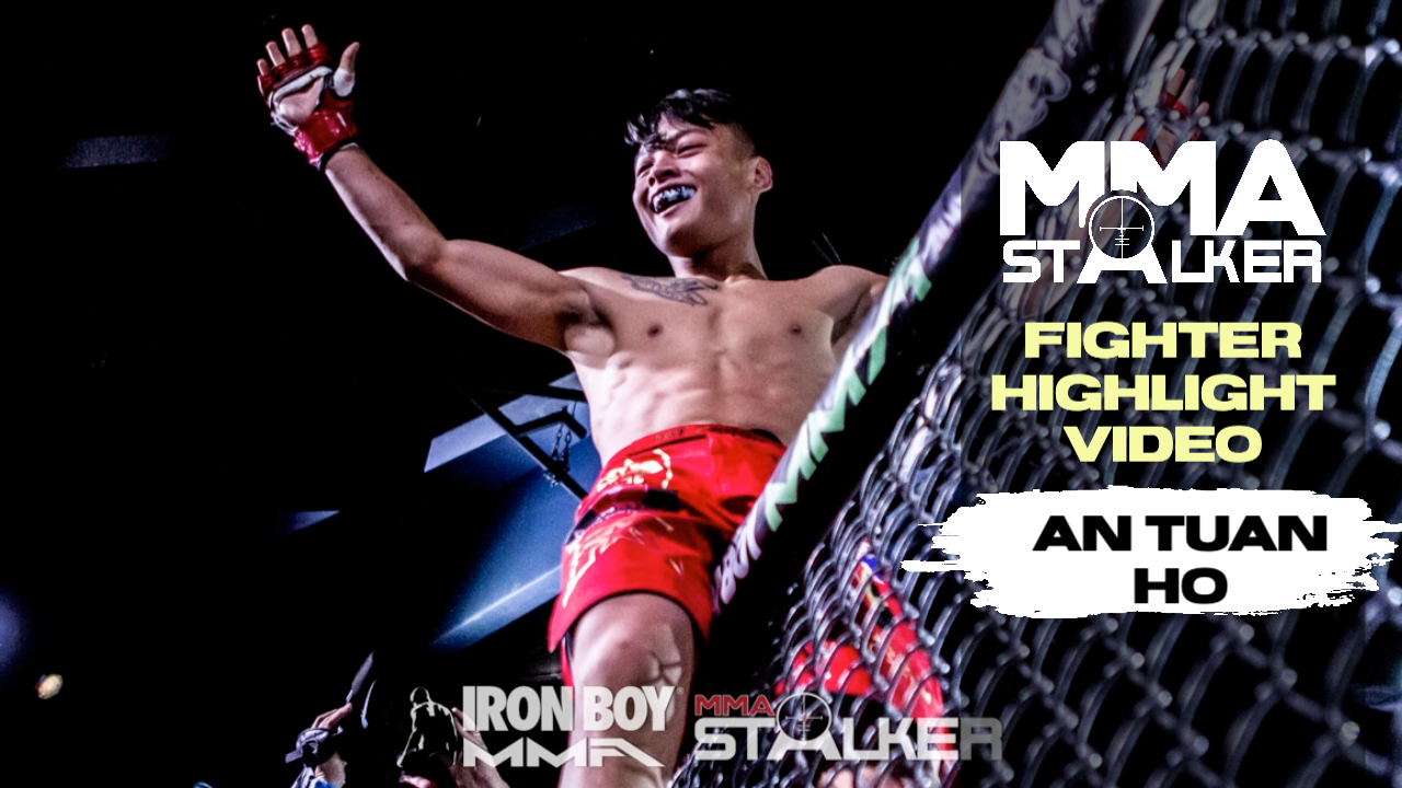 Video Thumbnail of An Tuan Ho sitting on MMA Cage