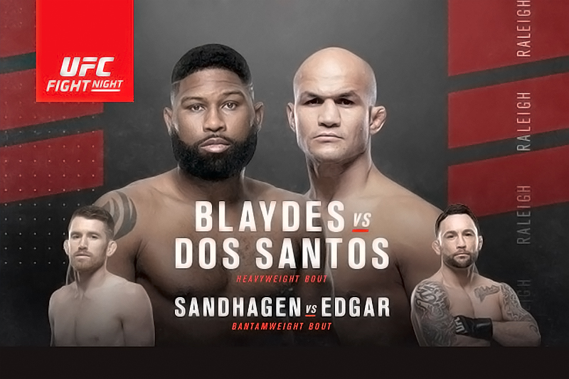 UFC Fight Night: Blaydes vs Dos Santos Live Stream