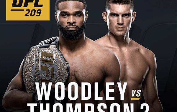 UFC 209 Main Event