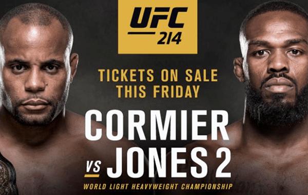 4be890d2 GROCKE'S UFC 214 LIVE REPORT 7/29: Cormier vs. Jones, Cyborg vs. Evinger,  Lawler vs. Cerrone, Manuwa vs. Oezdemir