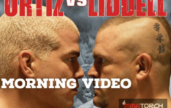 MORNING VIDEO: Chuck Liddell vs Tito Ortiz 1 - MMATorch