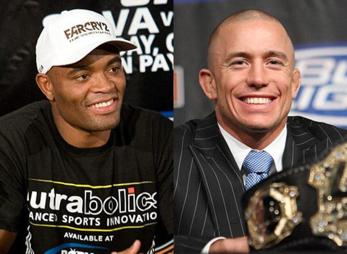 Anderson Silva vs Georges St-Pierre UFC
