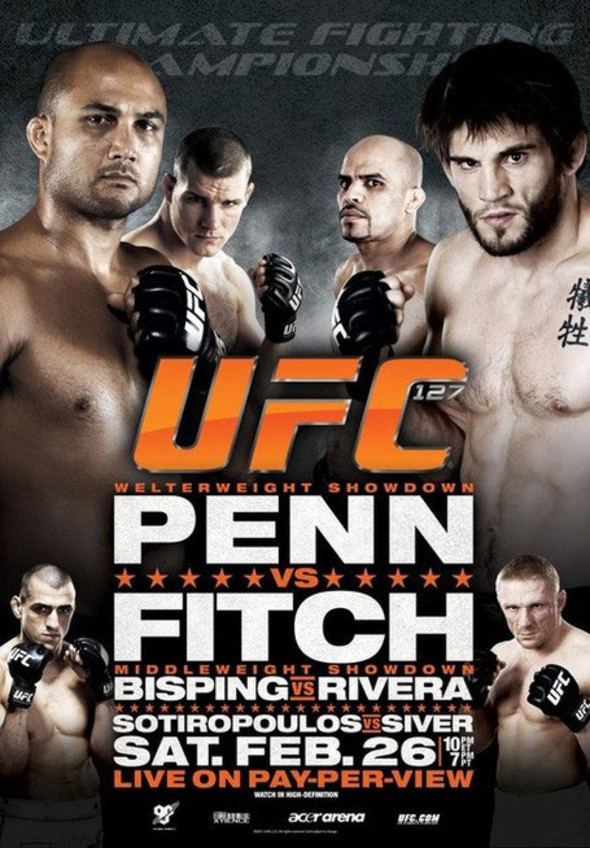 UFC 127 Poster