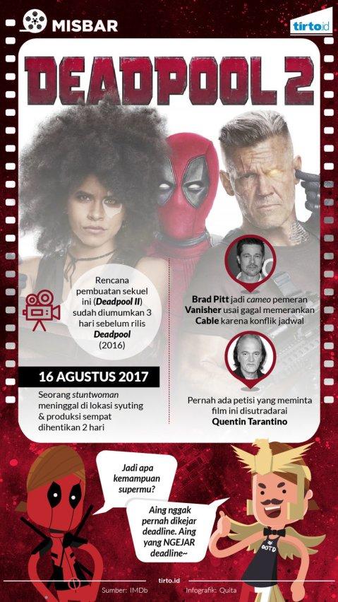 Infografik Deadpool 2