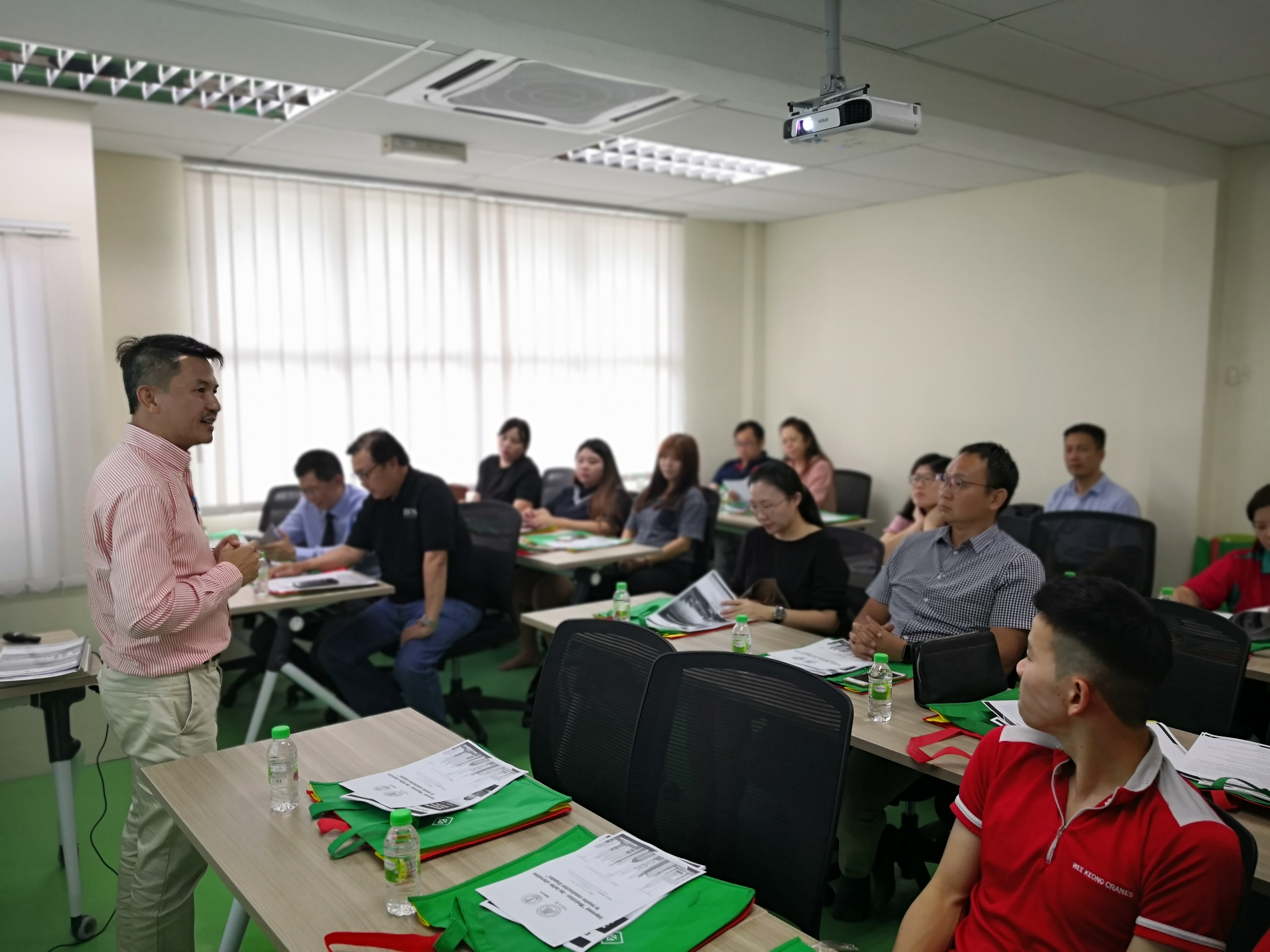 Mediation Talk at MMCOA / 马来西亚吊秤车同业公会举办【如何进行调解】讲座会