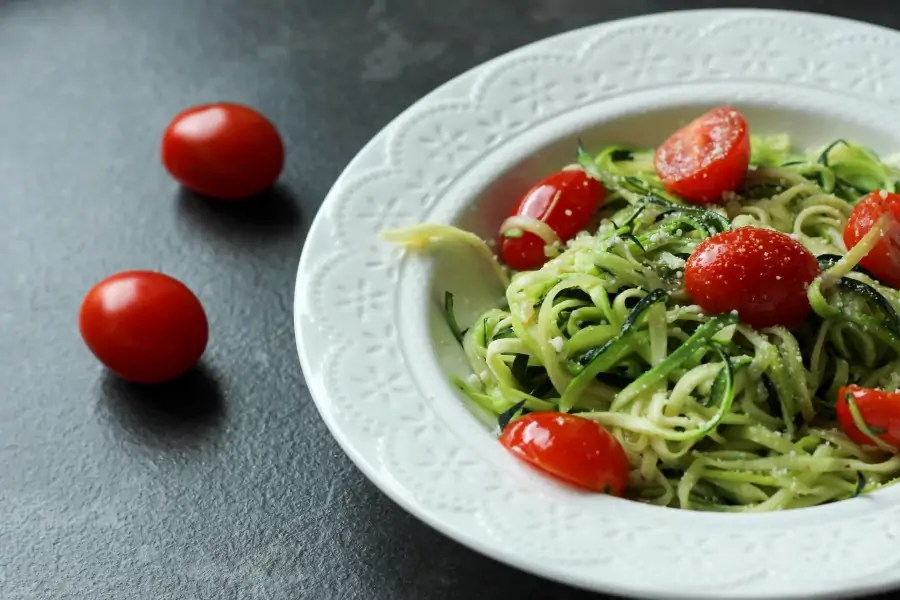 Spaghetti z cukinii - fit obiad w mgnieniu oka