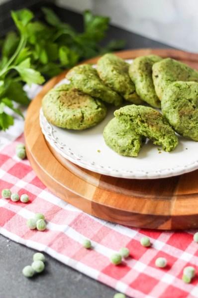 Kotleciki z zielonego groszku