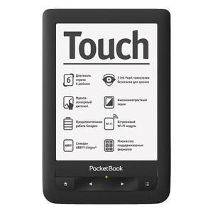 PocketBook Touch 622, Black - купить в разделе электроника pocketbook touch 622, black по лучшей цене от интернет-магазина OZON.ru