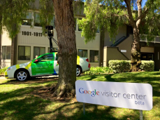 Googleplex receives so many visits from local residents and tourists, they opened a visitor center on campus.