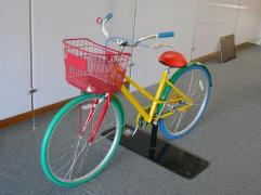 Another Google bike from our trip to the visitor center. This one is still in beta testing.