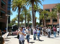 Google's campus was full of many passionate Googlers from many different areas of expertise.