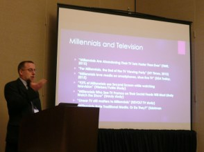 Jason Zenor from SUNY Oswego discusses millennials' perspectives on second screen adoption.