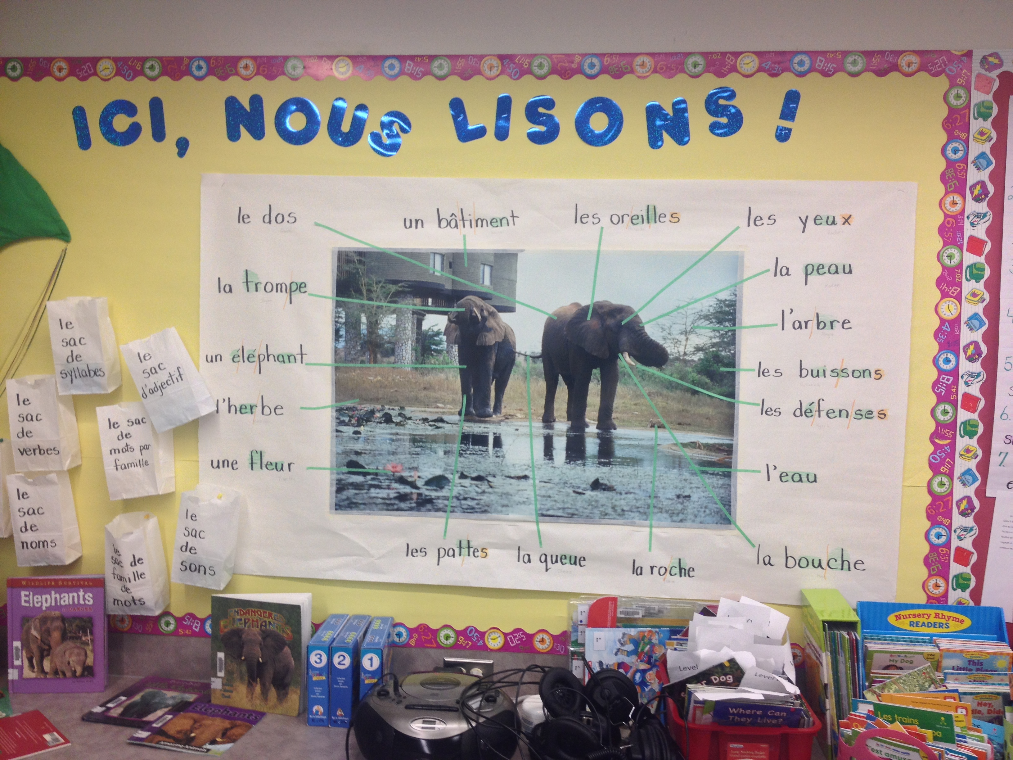 French Immersion Mme G C Work In Progress